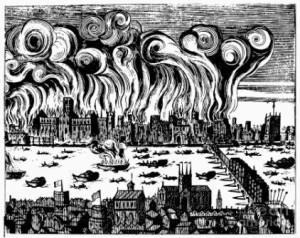 что вызвало лондонский пожар