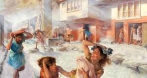 Что слкчилось у подножия Везувия в год его извержения