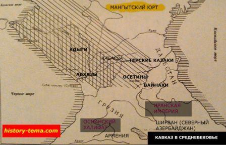 Как раньше выглядел Кавказ