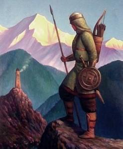 Как выглядели кавказские воины