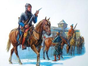 Как на Кавказе появились казаки