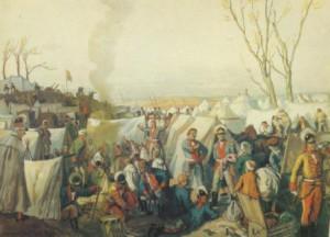 какой была российская армия в 18 веке