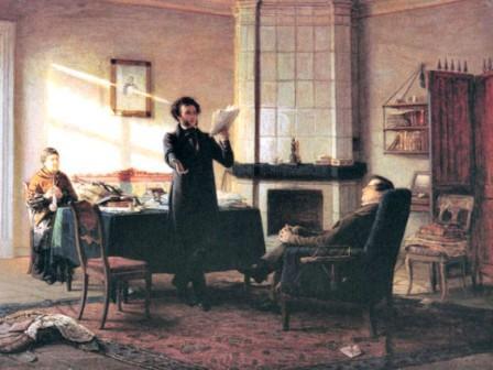 Что Пушкин делал в Михайловском. За что Пушкина отправили в Михайловское