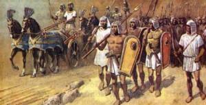как воевали древние египтяне