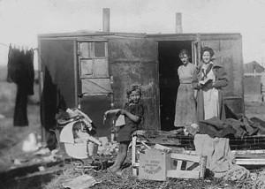 как жили бедняки в великую депрессию