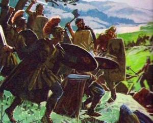 какие отношения были между римлянами и германцами