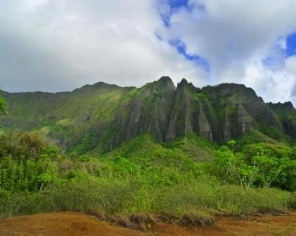 как выглядит внутренняя часть гавайских островов