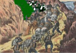 где проходили сражения кавказской войны