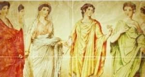 как одевались римлянки