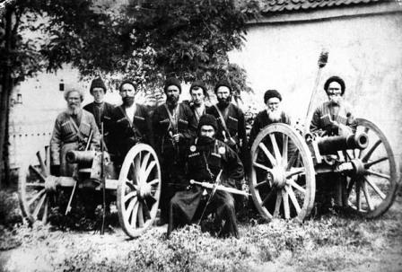 как кавказские горцы воевали вместе с турками