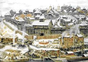 как выглядели древнерусские города