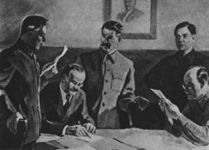 как вел себя сталин во время войны