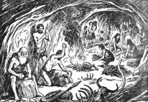 как жили в пещерах первобытные люди
