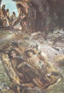 отчего погибали первобытные люди