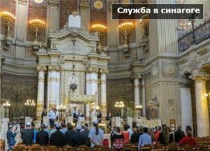 как внутри выглядит синагога