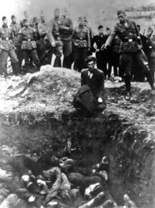 как фашисты убивали евреев