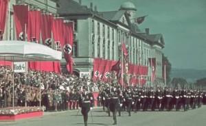 как выглядели фашистские парады