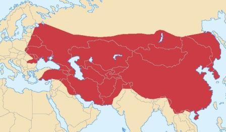 где была монгольская империя