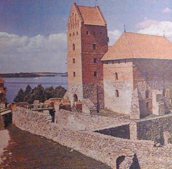 где жили литовские князья