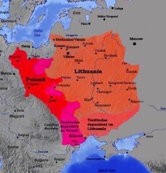 где было великое княжество литовское