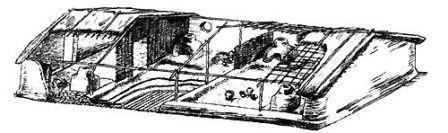 в каких жилищах жили люди неолита