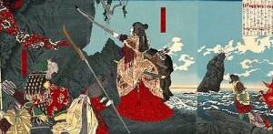 с кем воевали древние японцы