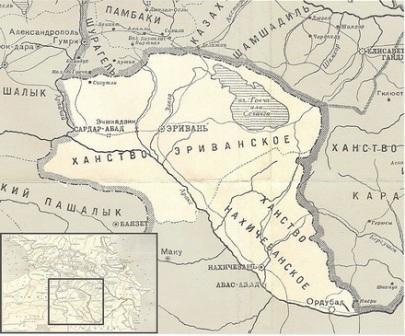 как была административно устроена армения во время иранского и турецкого правления