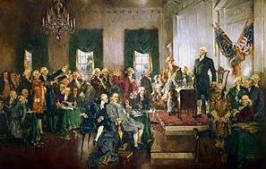 как приняли конституцию сша