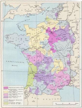 какой была франция в средневековье