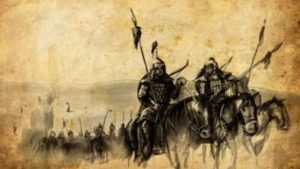 как русские и половцы вместе выступили против монголов