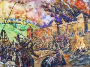какой город долго сопротивлялся монголо-татарам