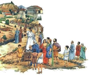 как жили древние греки