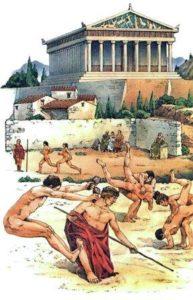 почему древние греки делали обнаженные статуи и рисунки