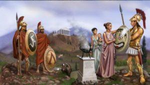 как жили в спарте