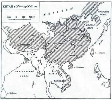 какие были границы китая раньше