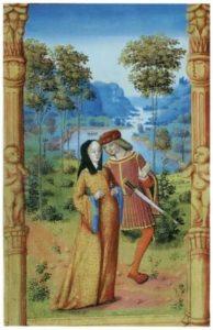 почему в средневековье в европе было столько любовных романов