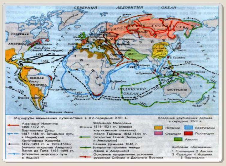 что такое великие географические открытия