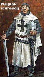 с какими немцами крестоносцами воевал александр невский