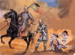 как грабили Кавказ монголы