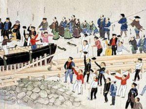 почему япония была изолирована от других стран