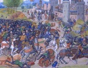 как английская королева возглавляла войско против шотландцев