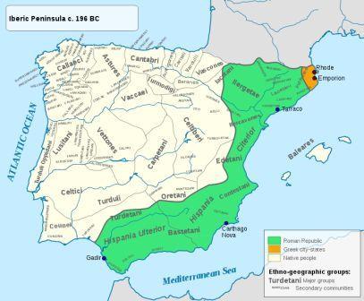 какой испания была в древности