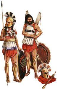 как выглядели спартанские воины