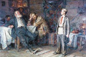 как изображали Павла Морозова художники