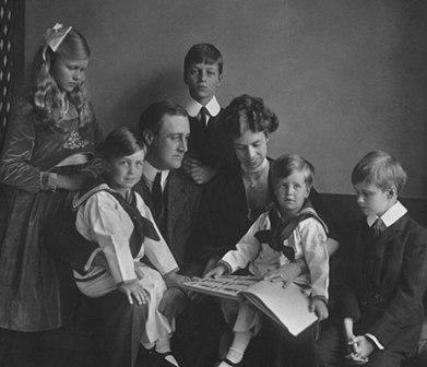 какая была семья у рузвельта