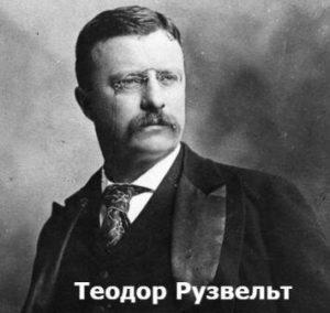 кто такие теодор и франклин рузвельты