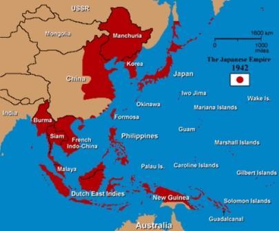 где была японская армия во вторую мировую войну