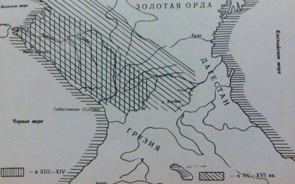 где была земля адыгов черкесия