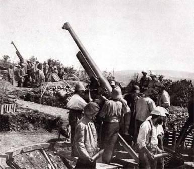 когда вооружение армий стало похожим на современное