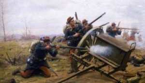 как использовали огнестрельное оружие в 19 веке